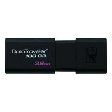 Kingston DataTraveler 100 G3 32GB USB3.0   隨身碟-黑