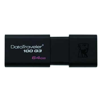 Kingston 金士頓 DataTraveler 100 G3 64GB USB3.0   隨身碟-黑