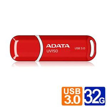 ADATA 威剛 UV150 32GB USB3.0   隨身碟-紅