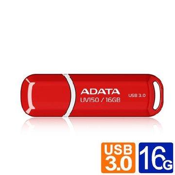 ADATA 威剛 UV150 16GB USB3.0   隨身碟-紅