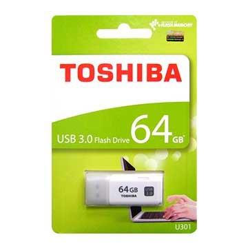 TOSHIBA 東芝 Hayabusa 悠遊 64GB USB3.0 隨身碟-白