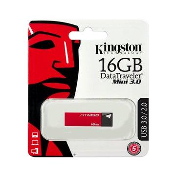 DataTraveler M30 16GB  隨身碟-紅