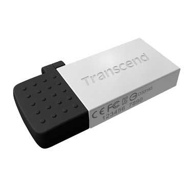 JetFlash 380 64GB micro USB OTG  隨身碟-銀