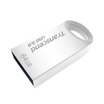 Transcend 創見 JetFlash 710S 64GB USB3.0   隨身碟-銀