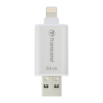 JetDrive Go 300 64GB USB3.1 Apple ios OTG  隨身碟-銀