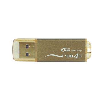 F108 4GB  隨身碟-金