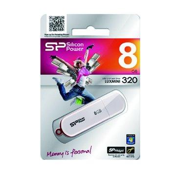 Luxmini 320 8GB  隨身碟-白