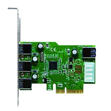 PEE4X31 PCI-E 4X USB3.0 3+1埠擴充卡