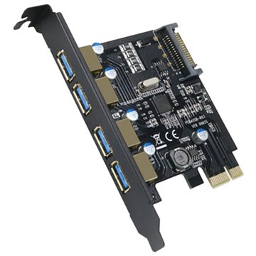 PTU304B 4埠USB3.0擴充卡PCI-E