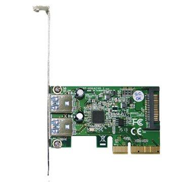 PTU312A PCI-E 4X USB3.1 2埠擴充卡