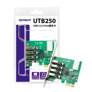 UTB250 USB 3.0 4埠擴充卡
