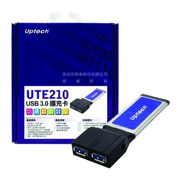 UTE210 2埠USB3.0 擴充卡Express