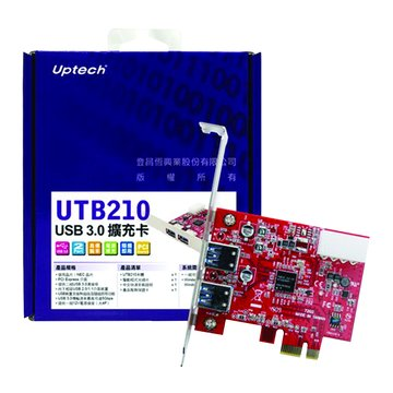 UTB210 2埠USB3.0 擴充卡PCI Express