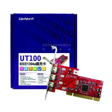 UT100 3埠1394a擴充卡PCI