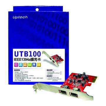 UTB100 2埠1394a/PCI Express