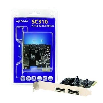 SC310 2埠 SATAIII擴充卡