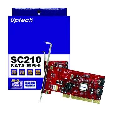 SC210 2埠SATA擴充卡PCI