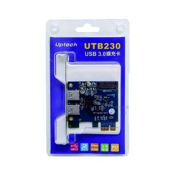 UTB230 2埠USB3.0 擴充卡PCI Express