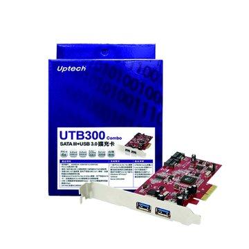UTB300 Combo SATA III+USB 3.0擴充卡