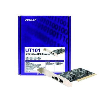 Uptech  UT101 IEEE1394a擴充卡(單晶片)