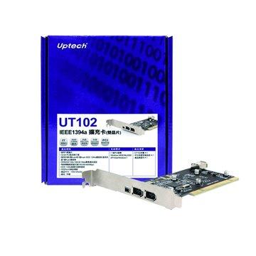 UT102 IEEE1394a擴充卡(雙晶片)