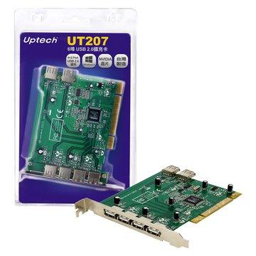 UT207 6埠USB2.0擴充卡PCI