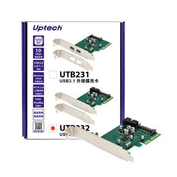 UTB232 USB3.1內接擴充卡PCI-E