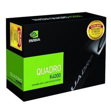 Quadro K4000  3GB  DDR5 繪圖卡