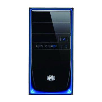 COOLER MASTER Elite 344-BKN2/藍黑 M-ATX 電腦機殼