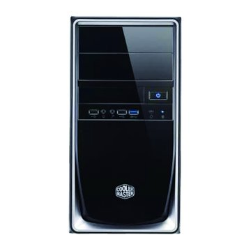 Elite 344-SKN2/銀黑 M-ATX 電腦機殼
