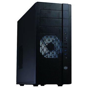 COOLER MASTER 訊凱科技 N400/2大3小/U3/黑化 電腦機殼