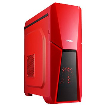 SAMA 先馬 雅典戰士 / 1大 / 紅 電腦機殼(福利品出清)