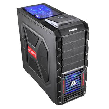 iCooby  8003B 4大/黑 電腦機殼(福利品出清)