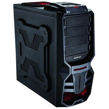 SUNFAR 順發 7209B 4大7小/黑 電腦機殼