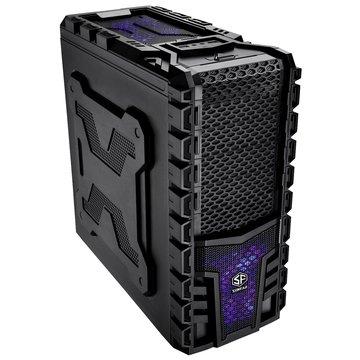 SUNFAR 順發 6808B 4大7小/黑 電腦機殼