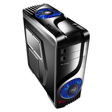 PC Park  GT37B 2大3小/騎士黑 電腦機殼