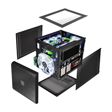 Thermaltake 曜越 Core V21 3大2小 電腦機殼