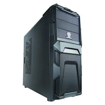 iCute 西華 鋼鐵戰士/3大4小/全黑化 電腦機殼(福利品出清)