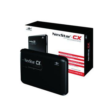 NST-200SU/BK SATA2.5''外接盒USB2.0+eSATA
