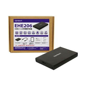 Uptech  EHE206 USB3.1 2.5吋硬碟外接盒