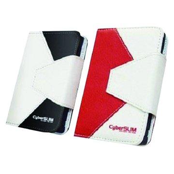 """T25U3-6GUASP 2.5""""皮套外接盒/紅"""