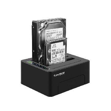 "S2-U3C PLUS 2.5/3.5""雙槽外接座USB3.0"