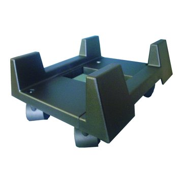 KTNET 廣鐸 塑膠主機立架+輪子/黑色