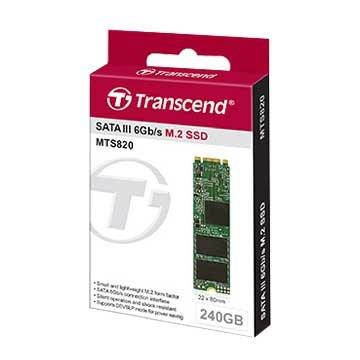 Transcend MTS820 240G M.2 2280 TLC SSD