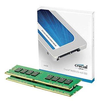 BX200 240G SSD+DDR4 2133 8G組合