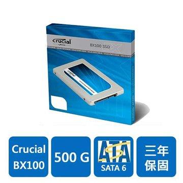 500G/BX100/SATA3 SSD