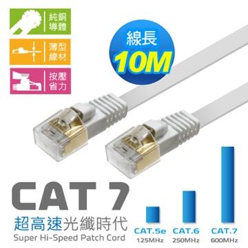 Cat.7 扁線 10M