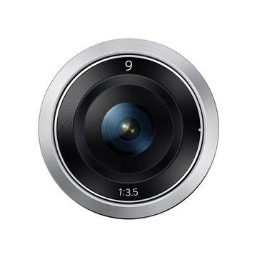 9mm-F3.5銀 鏡頭