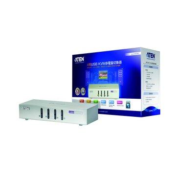 ATEN 宏正 CS74U 4埠USB KVM多電腦切換器