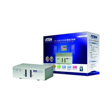 ATEN 宏正 CS72U 2埠USB KVM多電腦切換器